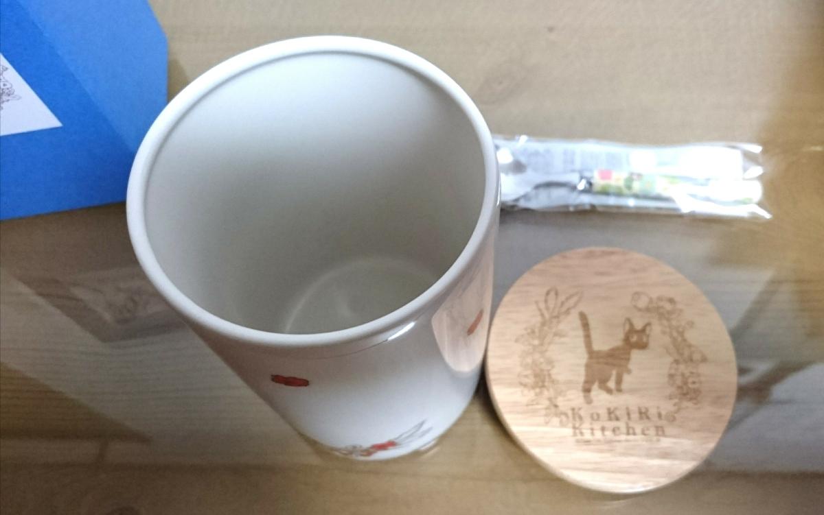 スタジオジブリ 魔女の宅急便 陶器キャニスター となりのトトロ デザートスプーン セット_画像4