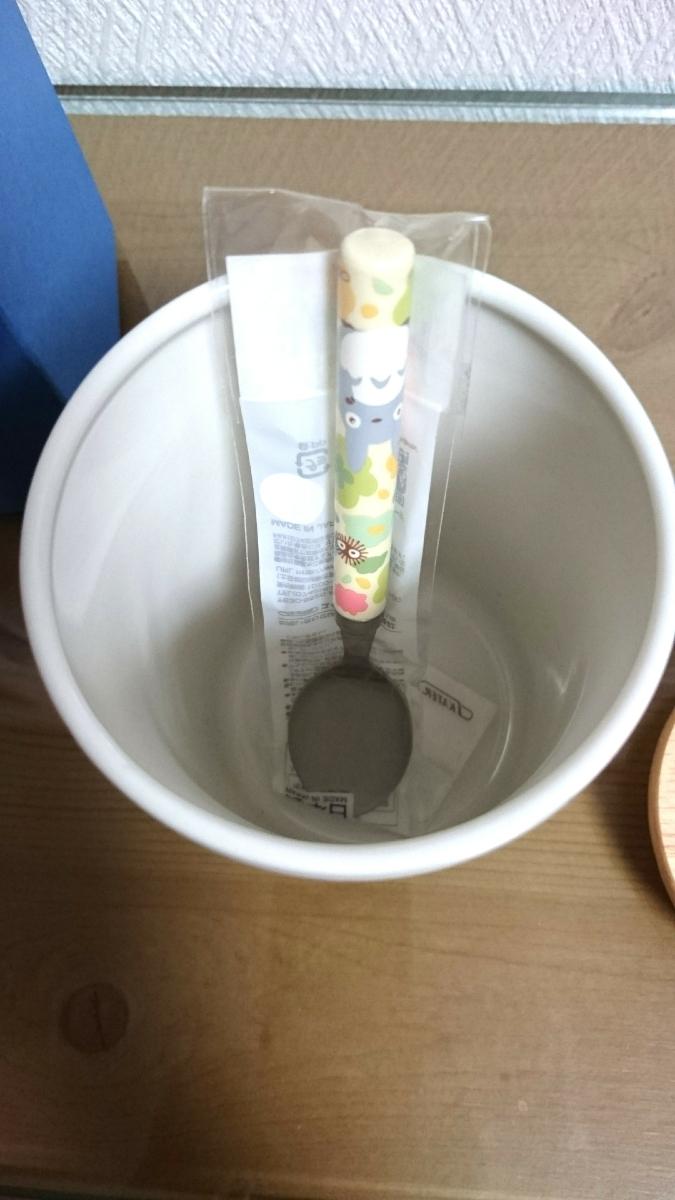 スタジオジブリ 魔女の宅急便 陶器キャニスター となりのトトロ デザートスプーン セット_画像5