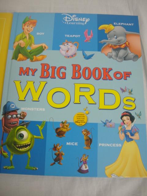 ★新品★DWE ディズニー英語システム ワールドファミリー MY BIG BOOK OF WORDS ステッカーブック 英会話 幼児英語 №17_画像2