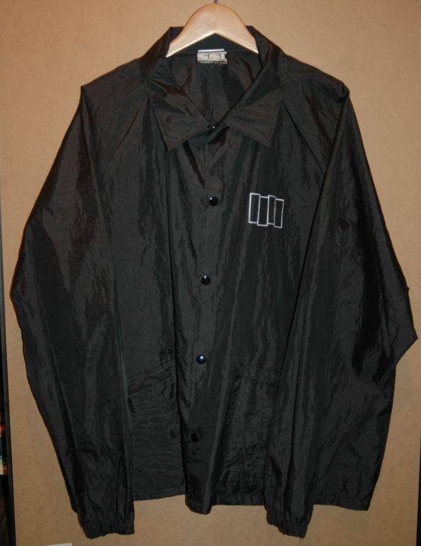 ユーズド 80年代 BLACK FLAG ブラックフラッグ ナイロン ジャケット SST タグ
