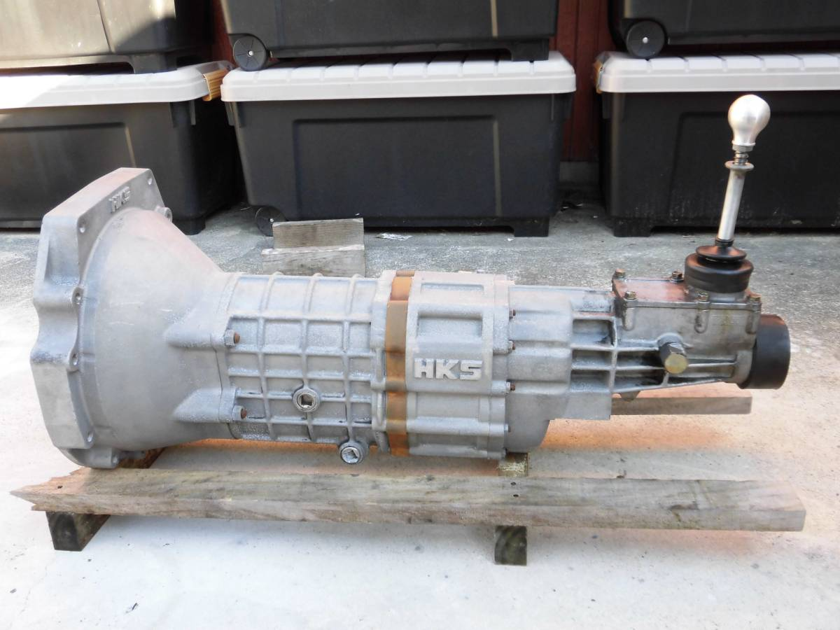 HKS 6速 Hパターン ドグミッション シルビア 180SX SR20 S13 S14 S15