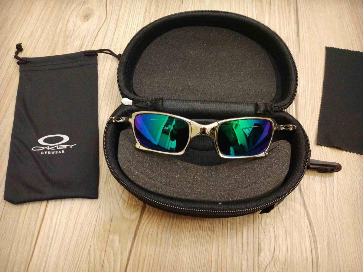 人気モデルオークリー OAKLEY 偏光レンズ サングラス※A1M 新品同様 スポーツサングラス