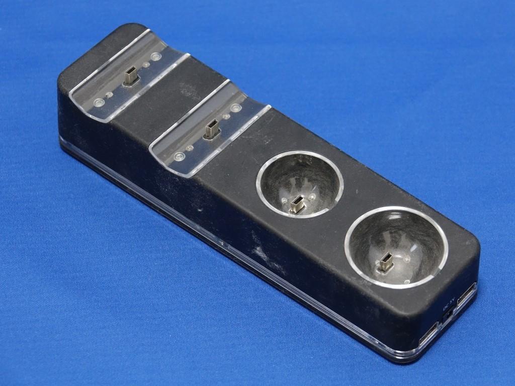 【ジャンク】PS3 モーションコントローラー ナビゲーションコントローラー EYE 充電スタンド セットで_画像6