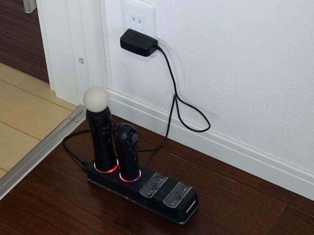 【ジャンク】PS3 モーションコントローラー ナビゲーションコントローラー EYE 充電スタンド セットで_画像9