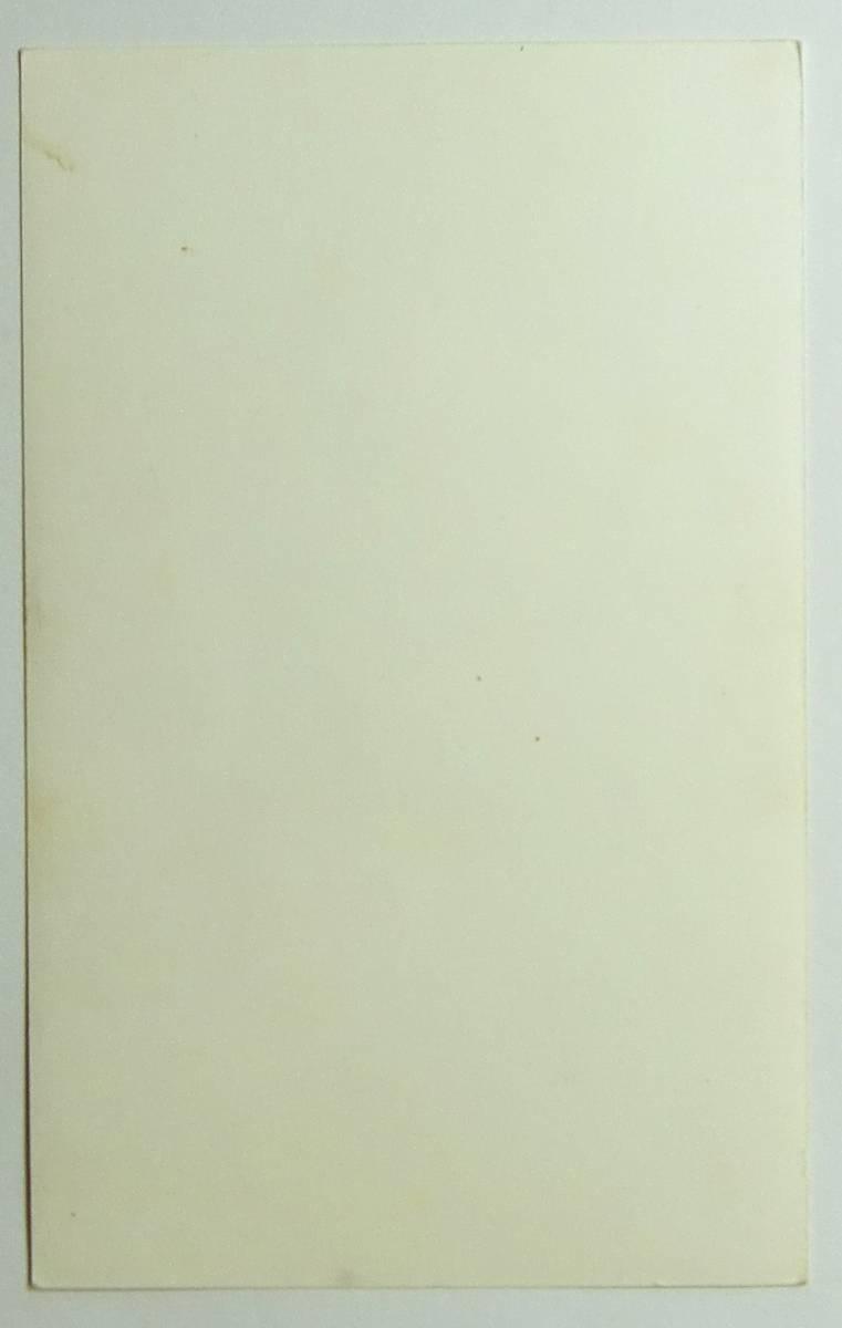 ブロマイド 絵葉書サイズの写真カード 女性(氏名等は書かれていません)_画像3