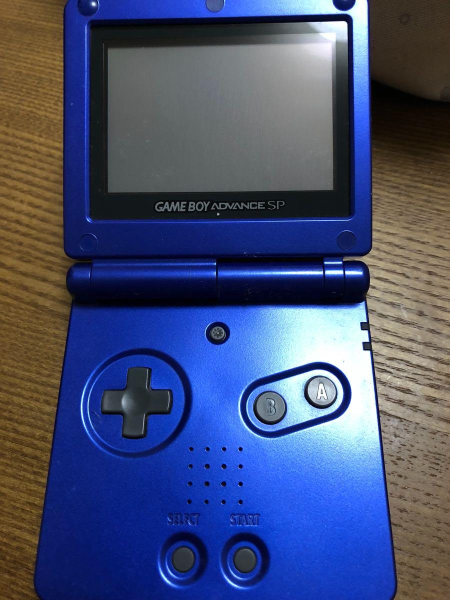中古 ゲームボーイアドバンスsp 本体 充電器なし_画像3