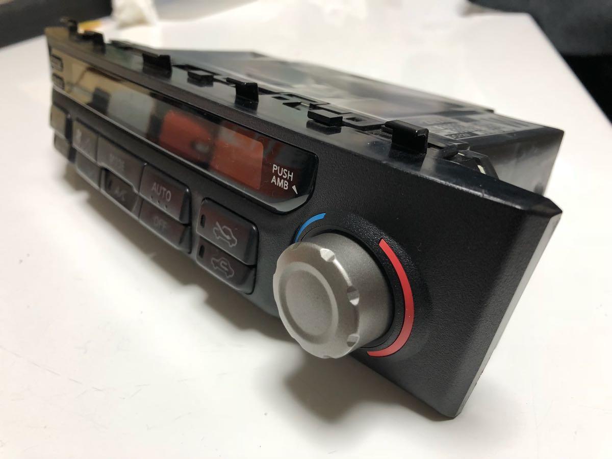 BNR34 R34 ER34 HR34 エアコンユニット 気温計付_画像3