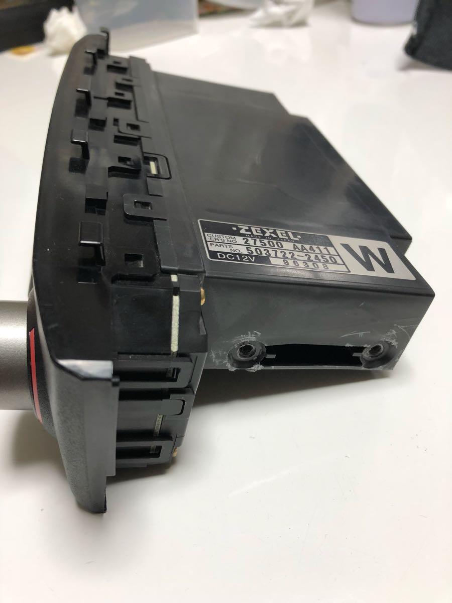 BNR34 R34 ER34 HR34 エアコンユニット 気温計付_画像4