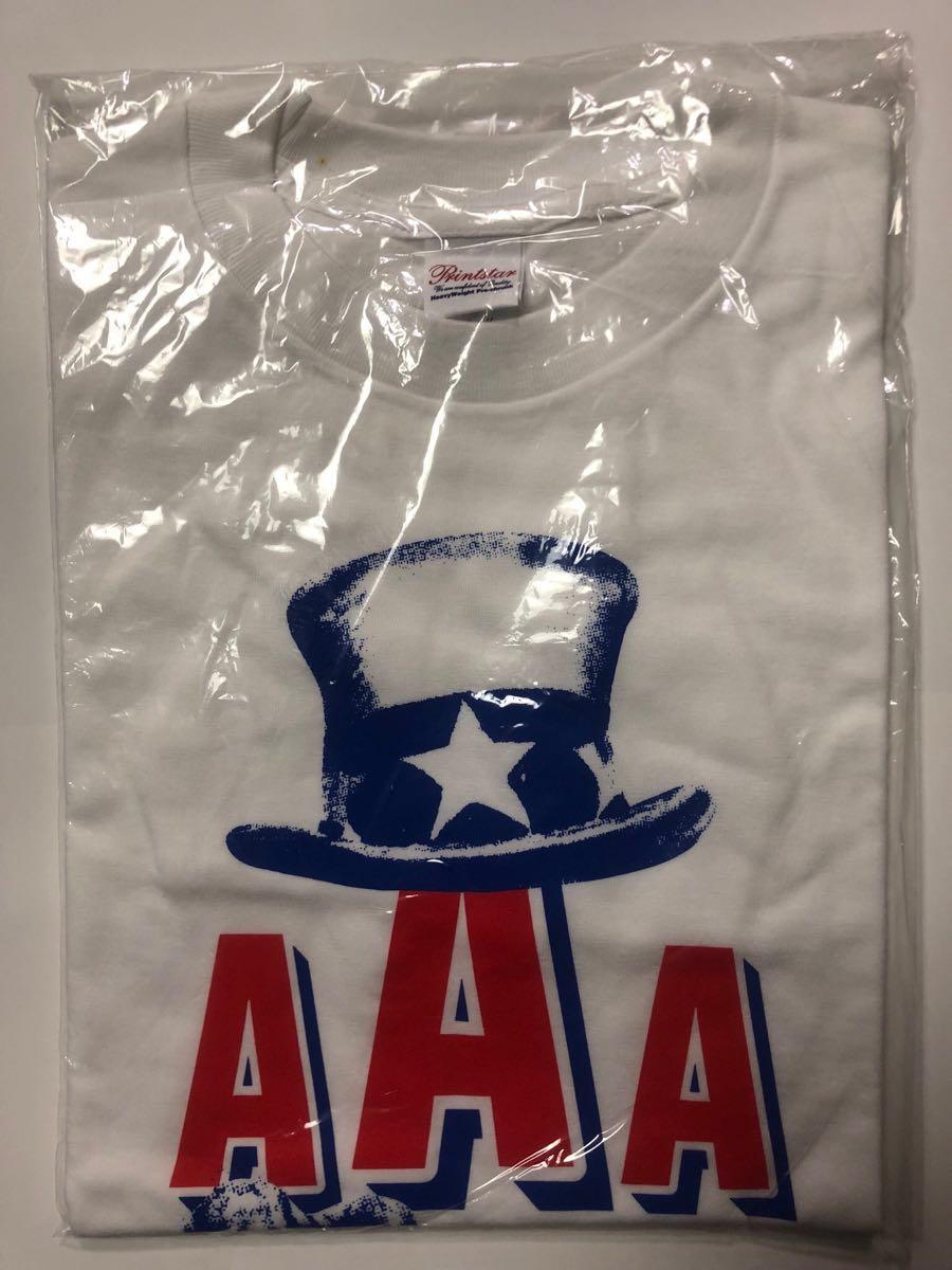 【未使用新品】 サザンオールスターズ /桑田佳祐 Tシャツ Act Against AIDS 2006 星条旗よ永遠なれ!? ~私のアメリカン・ヒーローズ