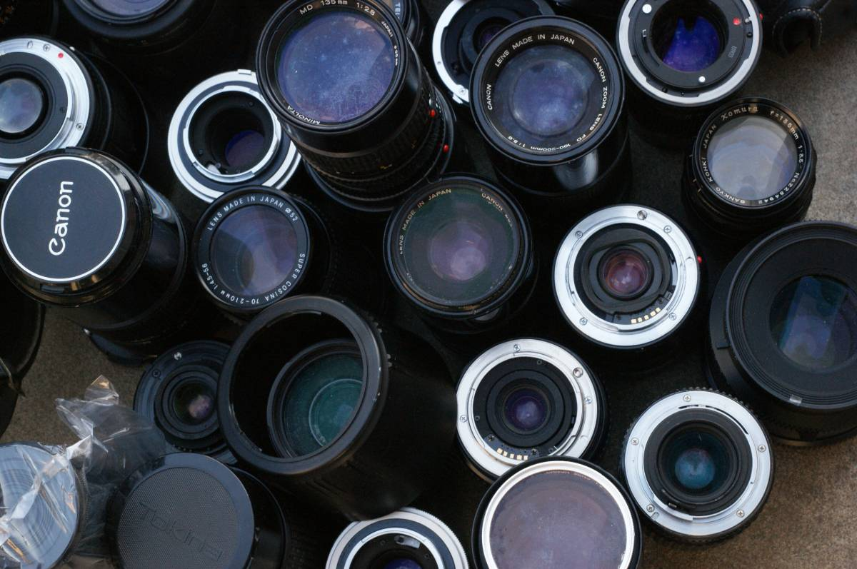 レンズ付き一眼23台山盛り完全ジャンクセット_画像3