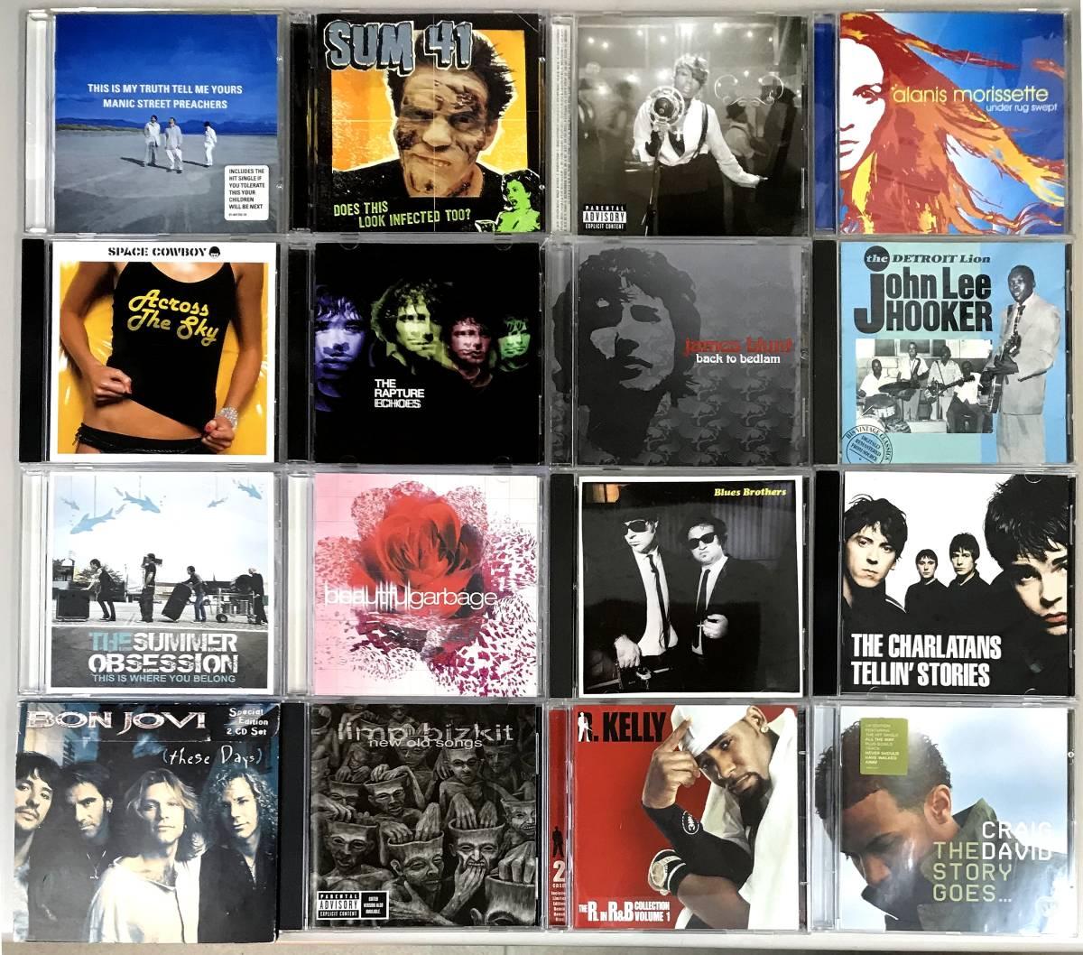 洋楽CD 120枚福袋!★ Beatles コールドプレイ Linkin Park Lady GaGa ボブ・ディラン Sex Pistols マーヴィン・ゲイ OASIS グリーンデイ_画像2