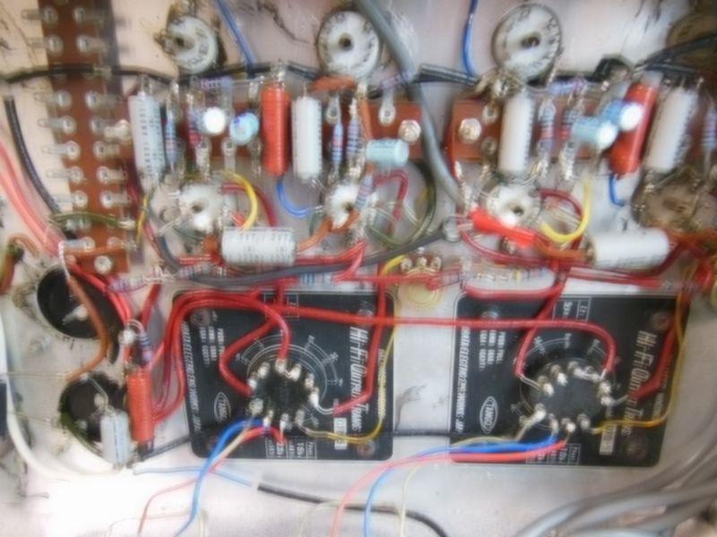 自作真空管アンプ 組立中断未完成品 ジャンク 部品取り 約40年前_画像7