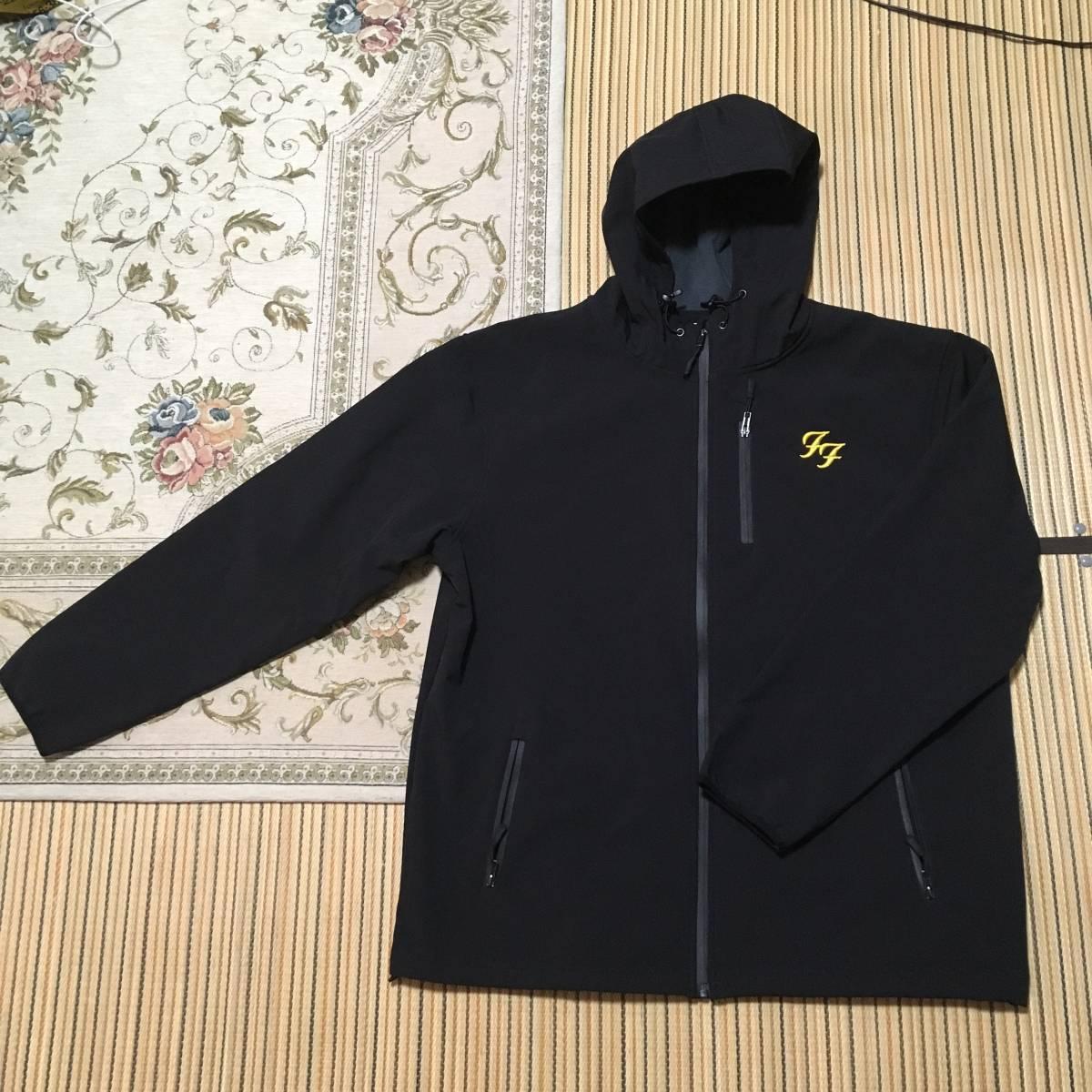 新品 FOO FIGHTERS The Soft Shell Embroidered Jacket XL 実質XXL 1円スタート the north face patagonia ユニクロ nirvana フーファイ