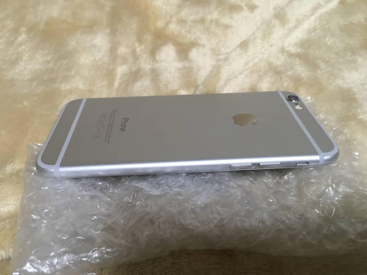 送料無料 au iPhone6 チョイ難あり 16GB silver_画像5