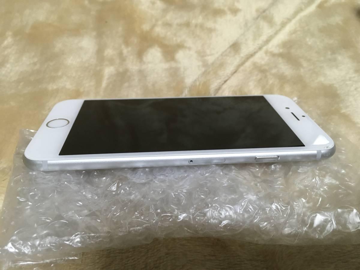 送料無料 au iPhone6 チョイ難あり 16GB silver_画像4