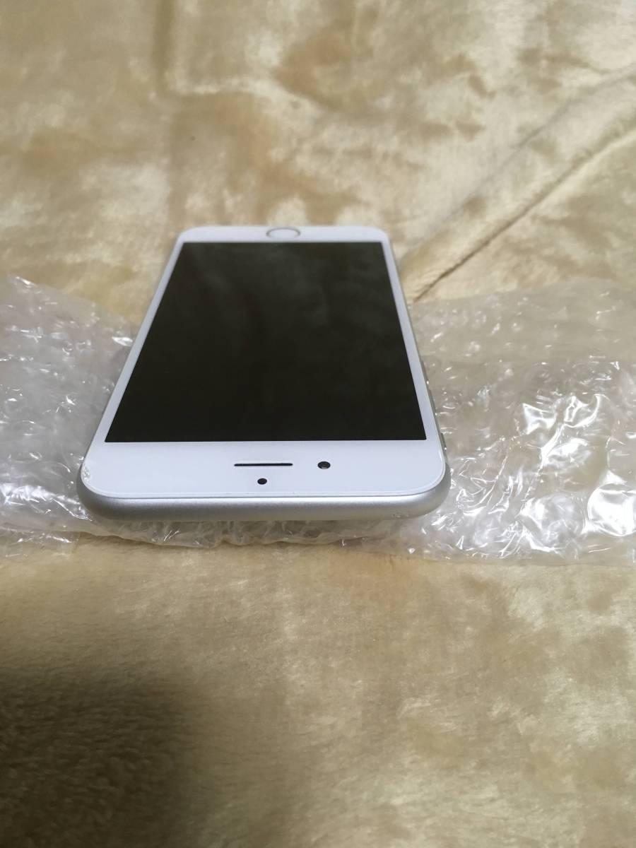 送料無料 au iPhone6 チョイ難あり 16GB silver_画像3