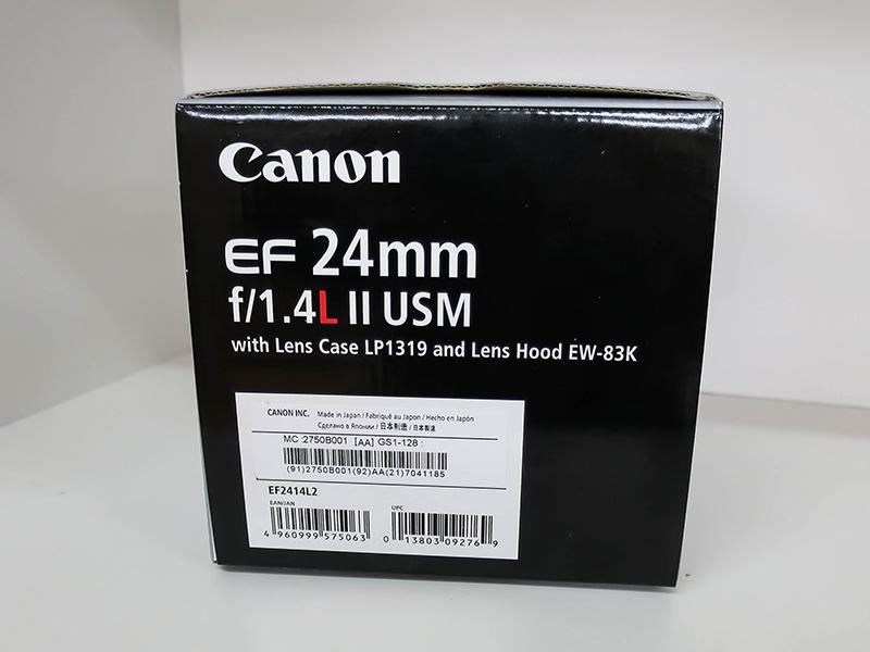 ★キヤノン EF24mm F1.4L II USM 完全新品 売り切り