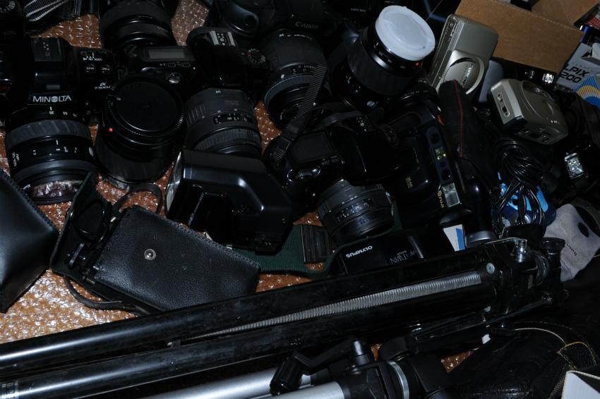 オートフォーカス 一眼レフフィルムカメラまとめて キヤノン、ミノルタ、ソニー ジャンク_画像6