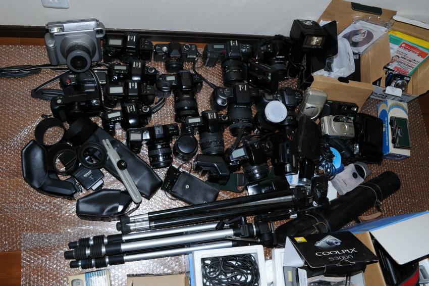 オートフォーカス 一眼レフフィルムカメラまとめて キヤノン、ミノルタ、ソニー ジャンク_画像4