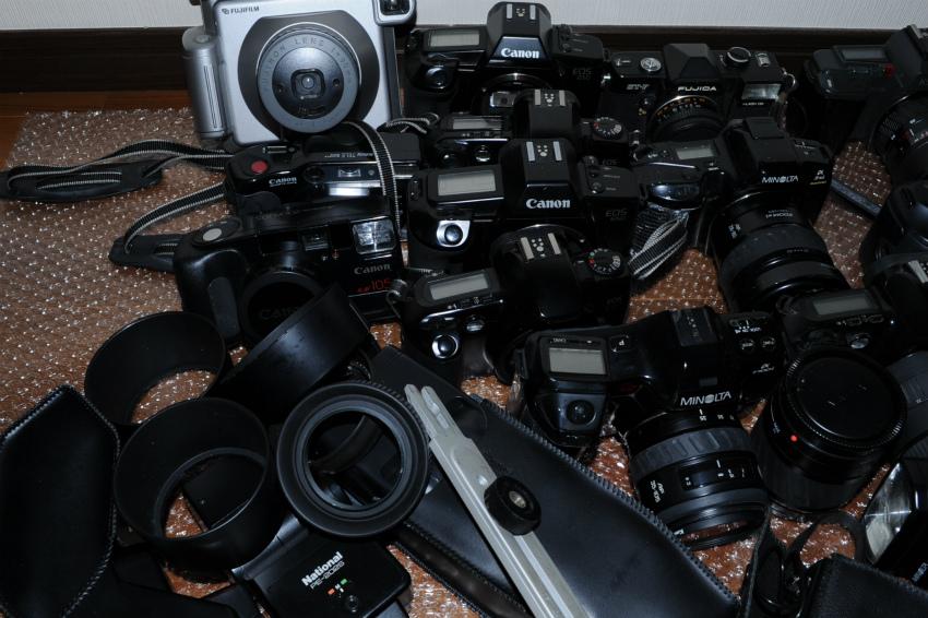 オートフォーカス 一眼レフフィルムカメラまとめて キヤノン、ミノルタ、ソニー ジャンク_画像5