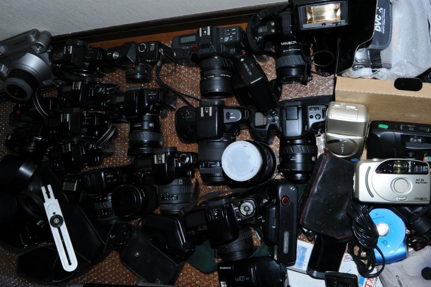 オートフォーカス 一眼レフフィルムカメラまとめて キヤノン、ミノルタ、ソニー ジャンク_画像7
