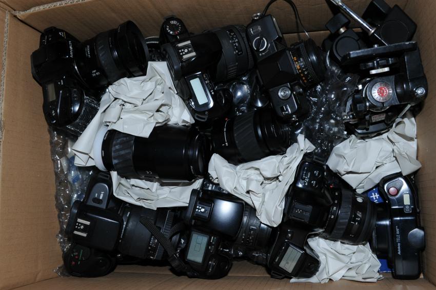 オートフォーカス 一眼レフフィルムカメラまとめて キヤノン、ミノルタ、ソニー ジャンク_画像10