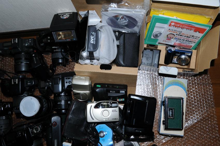 オートフォーカス 一眼レフフィルムカメラまとめて キヤノン、ミノルタ、ソニー ジャンク_画像8