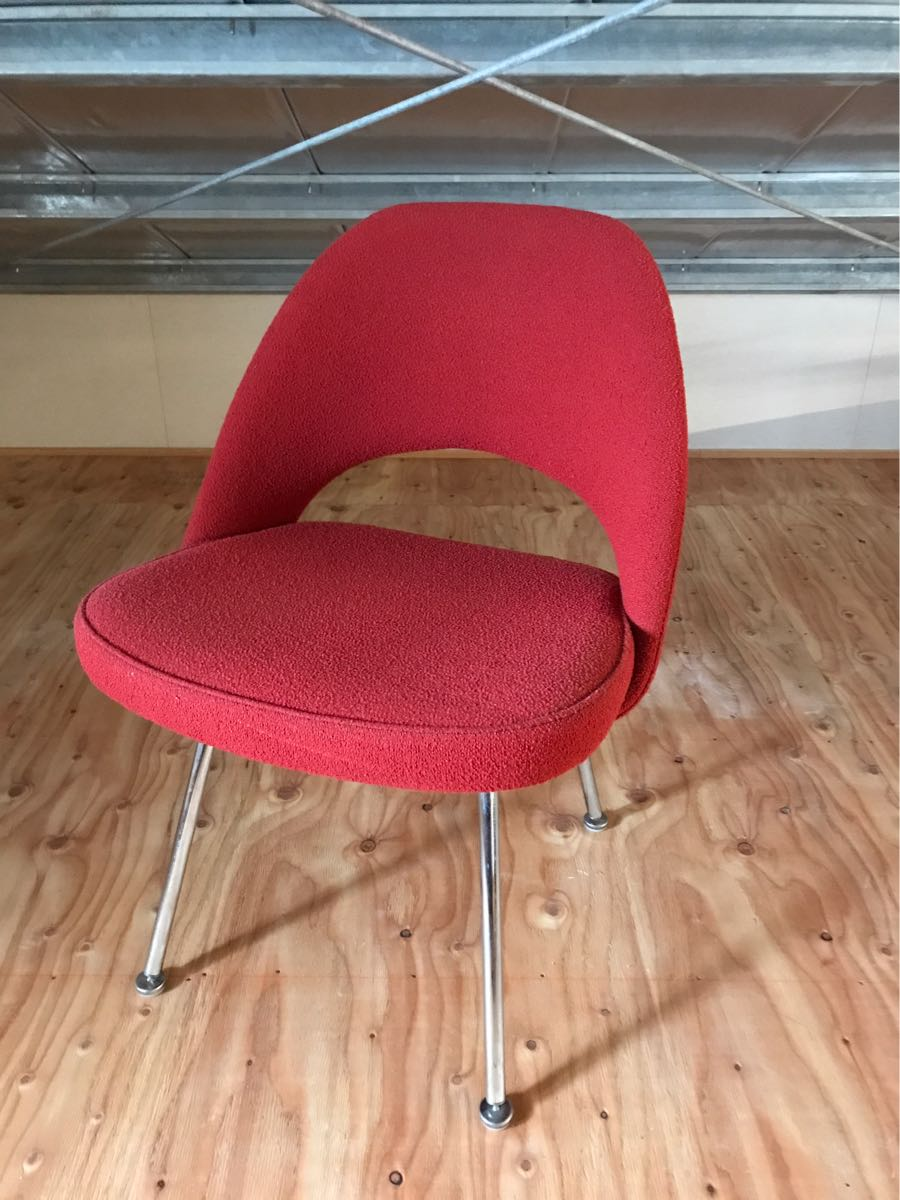 ★Eternal classic★【genuine】knoll Knoll 72 side chair. Saarinen/mid-century era chair.