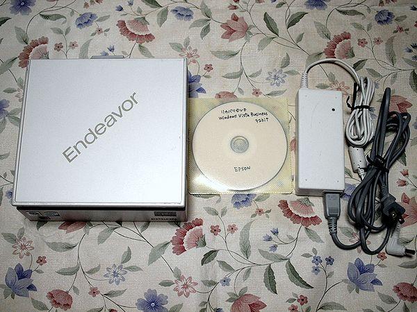 ★EPSON★Endeavor ST110★小型デスクトップ★リカバリあり_画像2