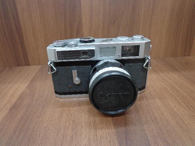 【2564】Canon7 レンジファインダー 50mm F1.4 ソフトケース付_画像2