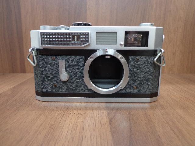 【2564】Canon7 レンジファインダー 50mm F1.4 ソフトケース付_画像3