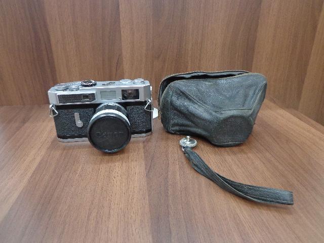 【2564】Canon7 レンジファインダー 50mm F1.4 ソフトケース付