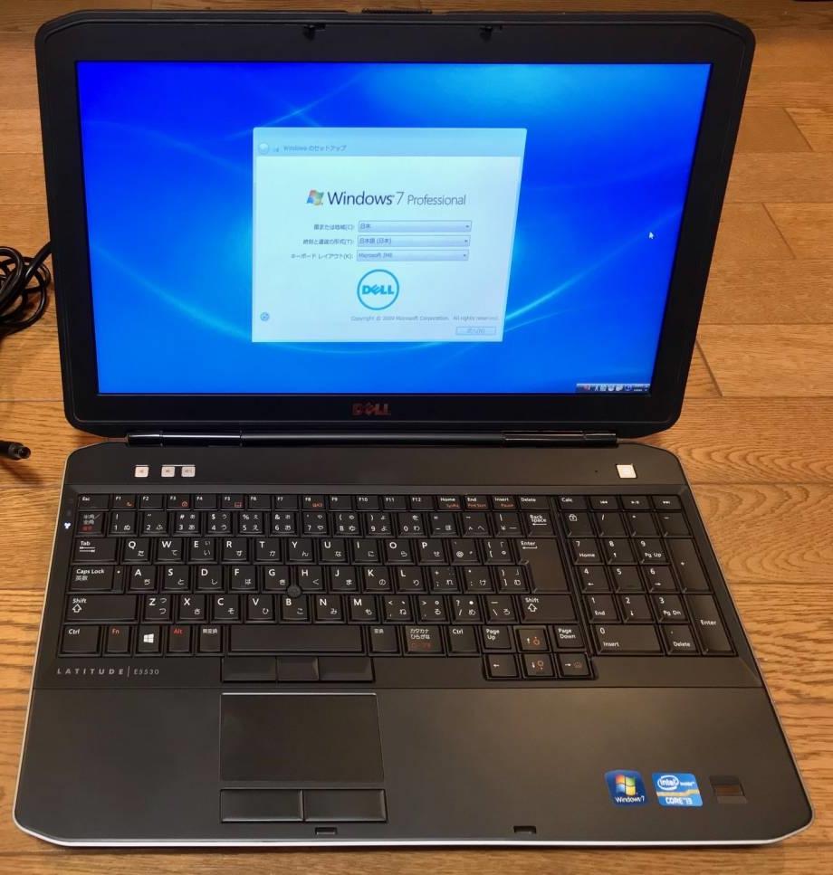 DELL Latitude E5530 (corei3 2.5GHz/4GB/HDD500GB/Windows7 Pro 32bit/DVDスーパーマルチ) 美品 送料無料
