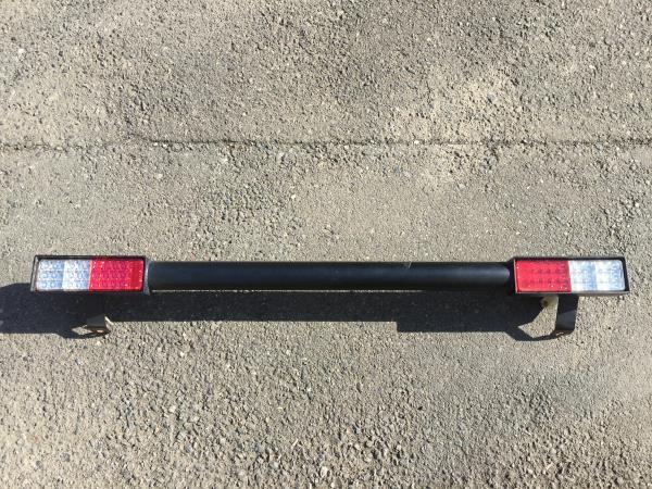 ジムニーJA11用 リアバンパー&LEDテールライト(モーターファーム)