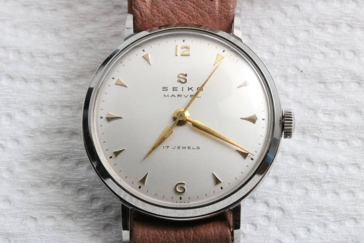 (8145)新品未使用 ★時計店在庫★ 【送料無料】 SEIKO セイコー MARVEL 17石