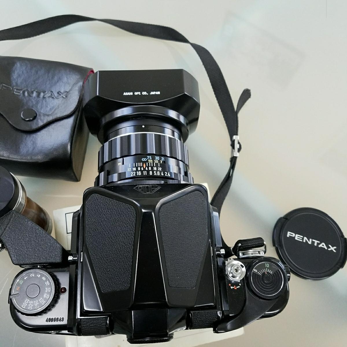 ペンタックス PENTAX 6x7 TAKUMARレンズ付き 中古カメラ ジャンク_画像7