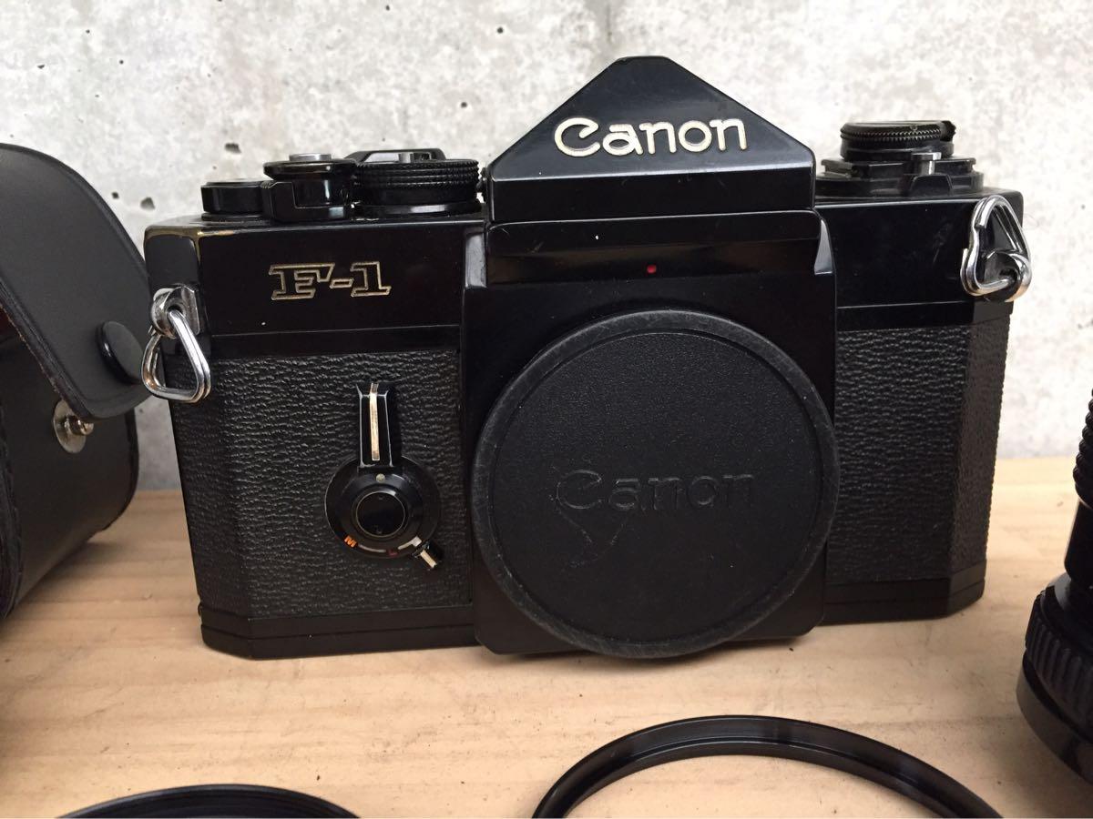 Canon キャノン F-1 カメラ 一眼レフ レンズセット ジャンク