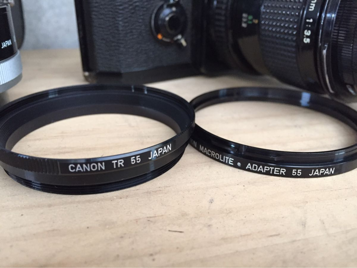 Canon キャノン F-1 カメラ 一眼レフ レンズセット ジャンク_画像7