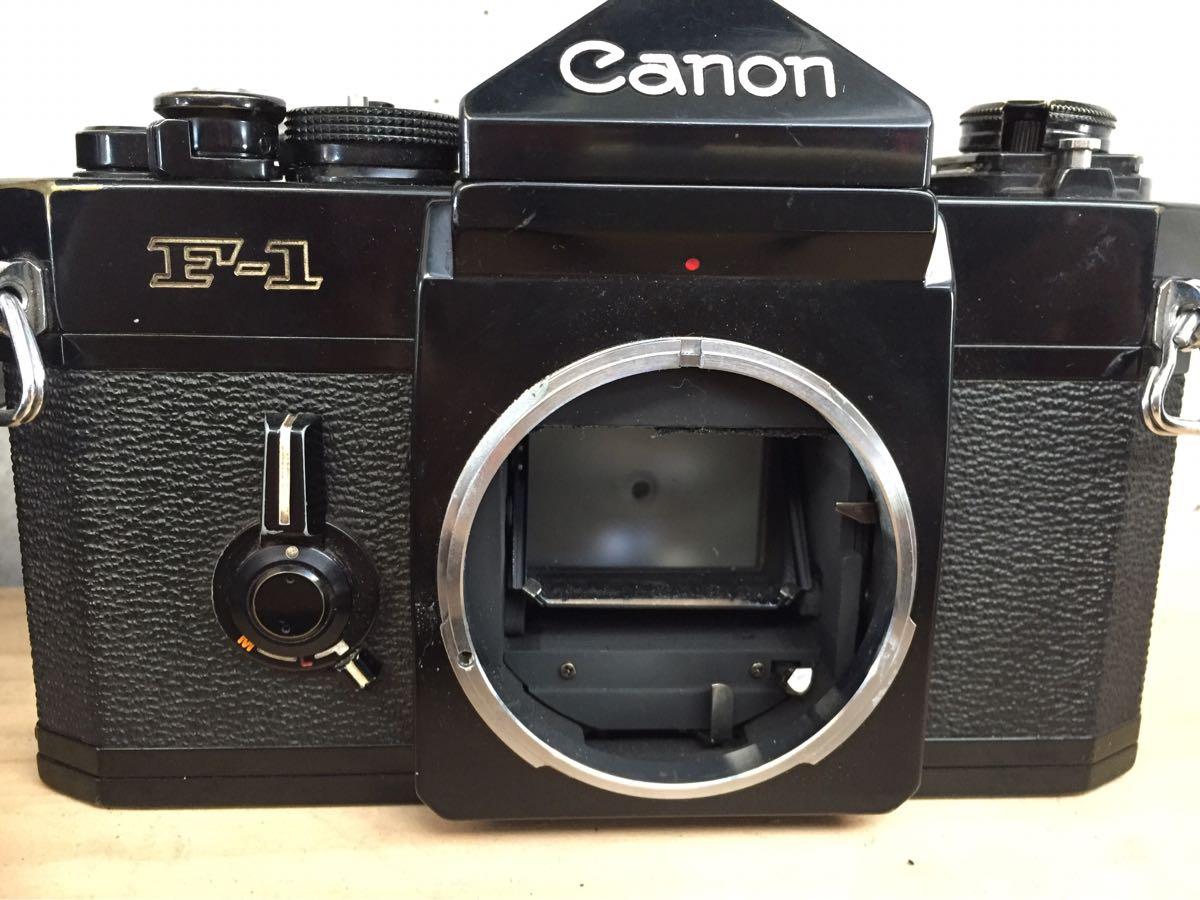 Canon キャノン F-1 カメラ 一眼レフ レンズセット ジャンク_画像3