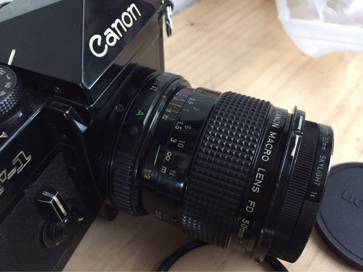 Canon キャノン F-1 カメラ 一眼レフ レンズセット ジャンク_画像6