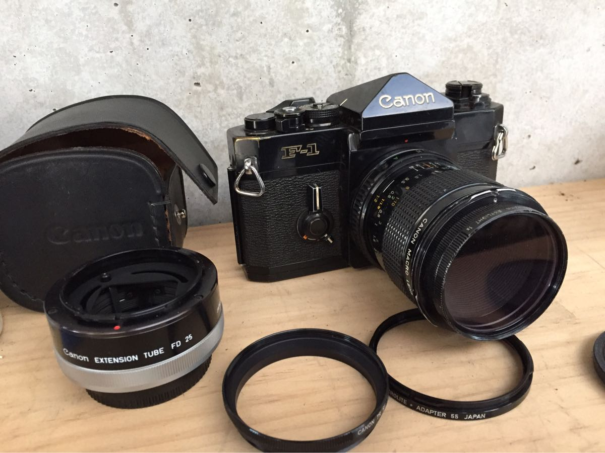 Canon キャノン F-1 カメラ 一眼レフ レンズセット ジャンク_画像8