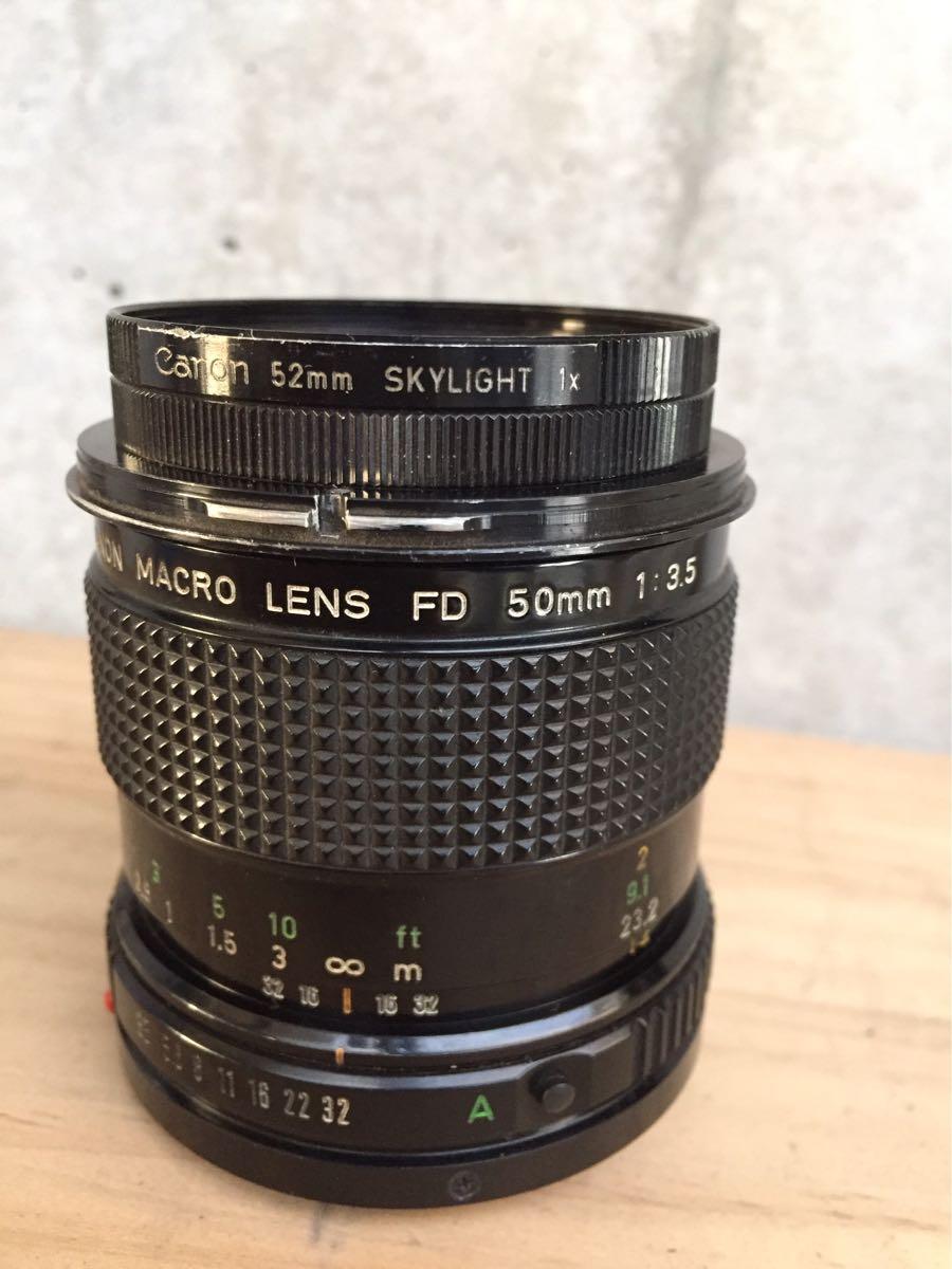 Canon キャノン F-1 カメラ 一眼レフ レンズセット ジャンク_画像10