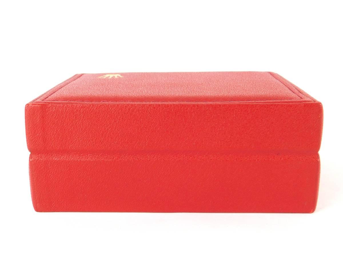 正規品 MONTRES ROLEX S.A. ロレックス ウォッチケース 収納ケース ボックス 化粧箱 空箱 赤_画像9