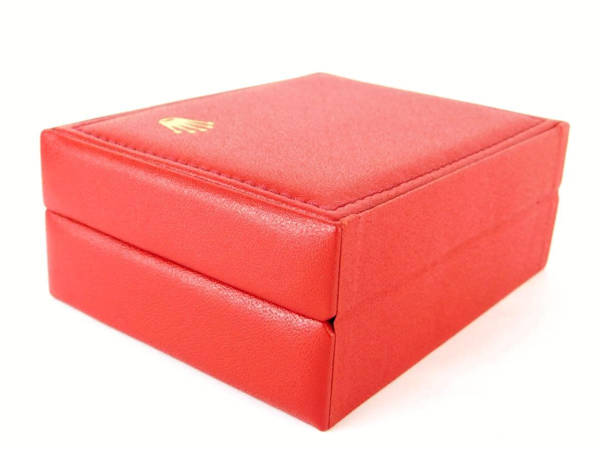 正規品 MONTRES ROLEX S.A. ロレックス ウォッチケース 収納ケース ボックス 化粧箱 空箱 赤_画像8