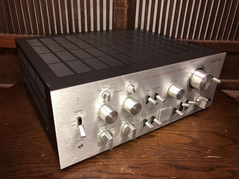 ジャンク VICTOR ビクター プリメインアンプ JA-S91 オーディオ 音響機器