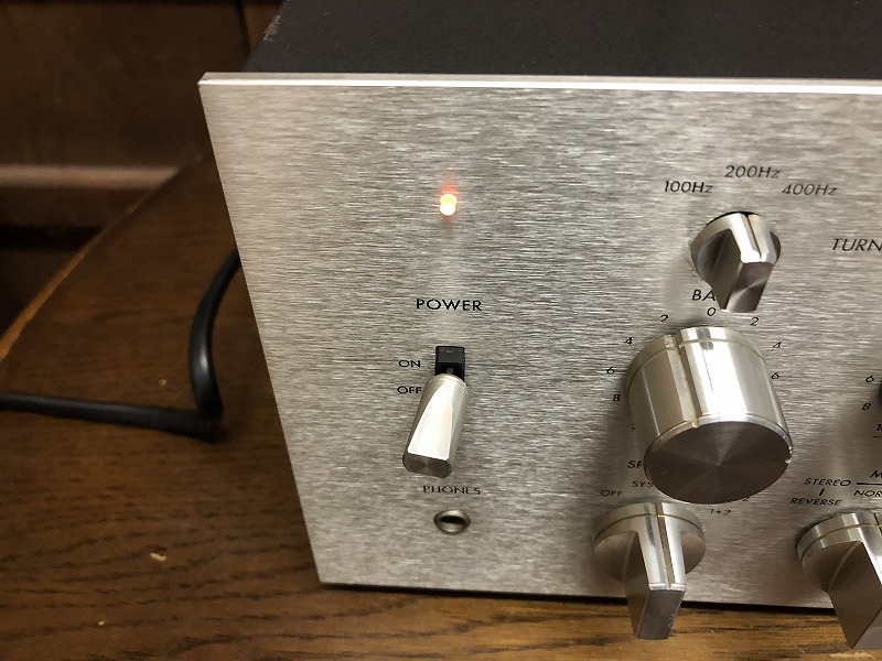 ジャンク VICTOR ビクター プリメインアンプ JA-S91 オーディオ 音響機器_画像4