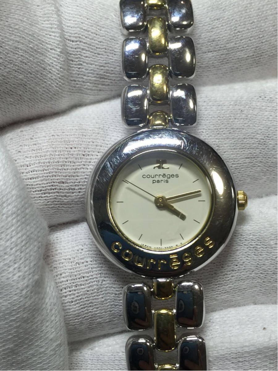 【ジャンク】時計品 Seiko、citizen,courreges 男と女 6点セットです。_画像6
