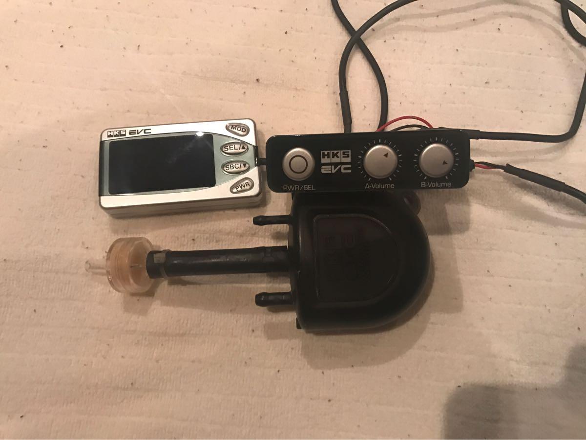 1円スタート 使用回数少 HKS EVC ブーストコントローラー