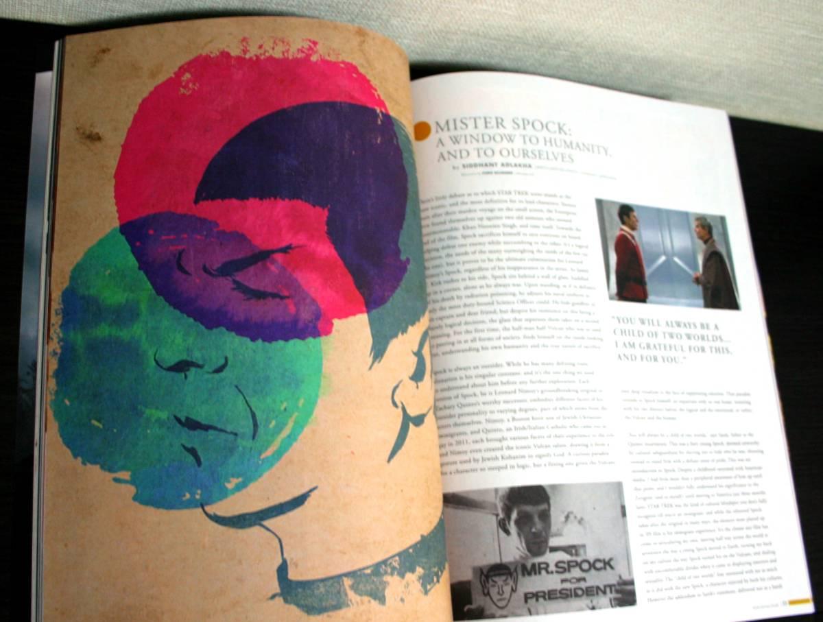 【コレクター限定】スター・トレック パンフ デザインブック 超希少 ★ 宇宙大作戦 BEYOND ★ 大変貴重な商品です。_画像7