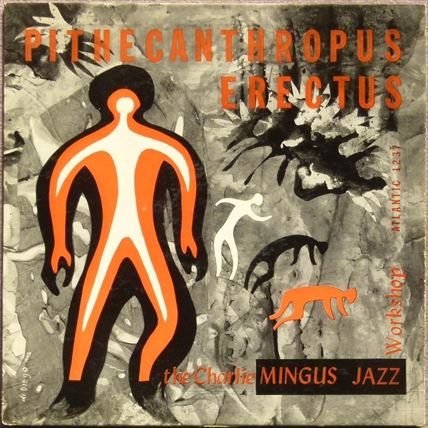 【オリジナル】Pithecanthropus Erectus / The Charlie Mingus Jazz Workshop★深溝/黒銀ラベル★